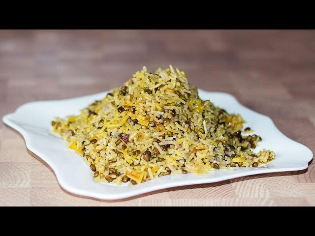 МАДЖАДРА - рис с чечевицей | Mujadrah - Lentils and Rice Recipe