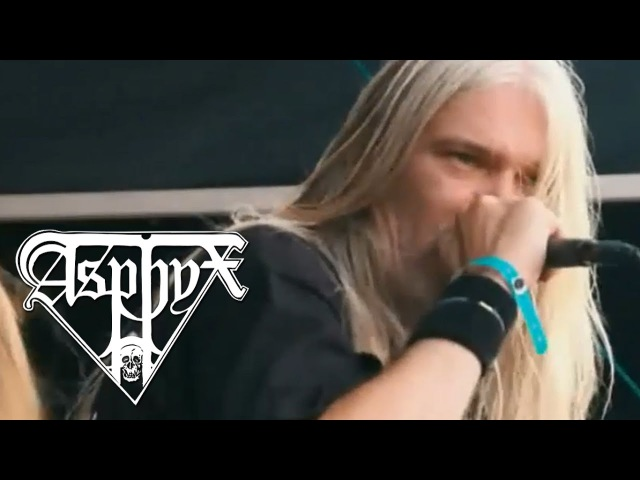 ASPHYX - Incoming Death [DVD] Full Show (2016)