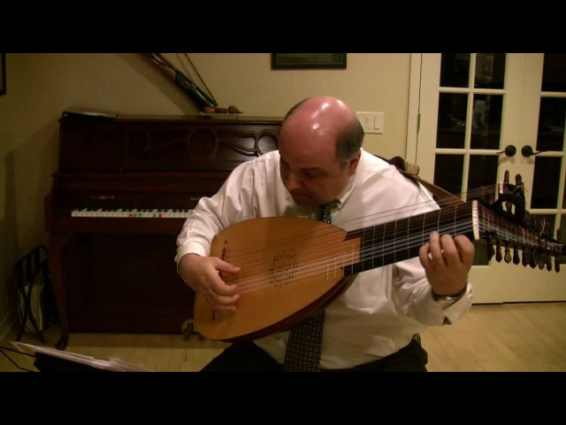 Ciaccona by G. A. Sautscheck for Baroque Lute