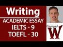 IELTS TOEFL Writing Full essay high score