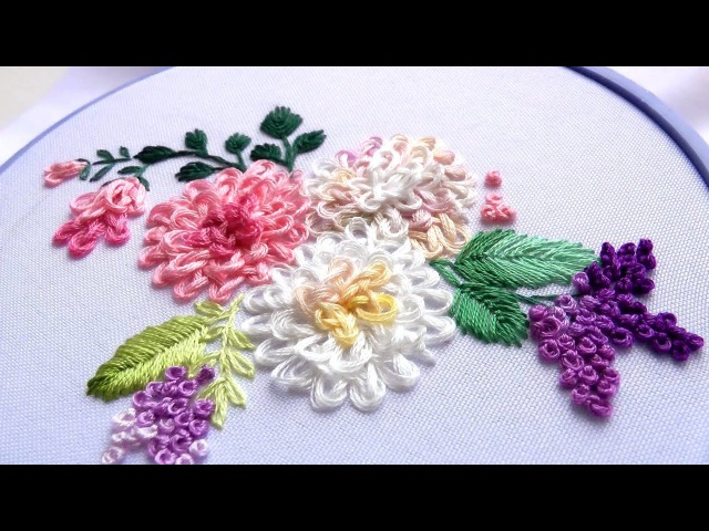 EMBROIDERY GORDIAN KNOT | ВЫШИВКА ГОРДИЕВ УЗЕЛ