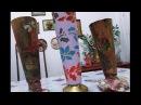 Artesanato: Reciclando cones de linha