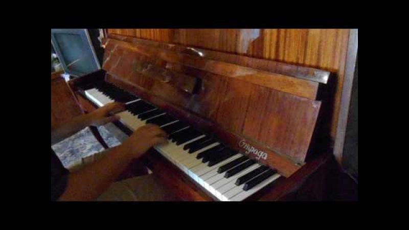 Музыка из передачи В мире животных (Alouette) на пианино