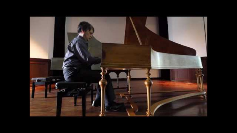 Genzoh Takehisa plays C.P.E. Bach's Rondo in a wq.56/5