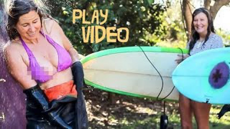 Pear Shaped - A Surf Short by Lauren Hill