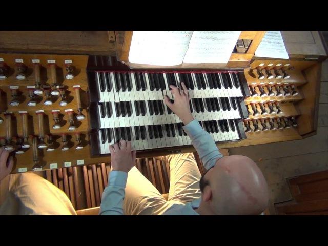 F. Liszt - Prélude et fugue sur B.A.C.H. (Florent Gallière)