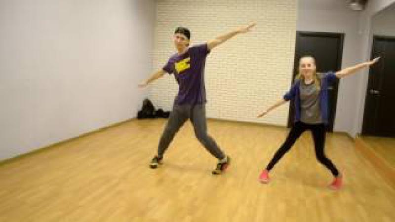 Танец на песню Время и Стекло - На стиле