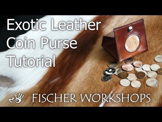 Exotic Leather Coin Purse Tutorial
