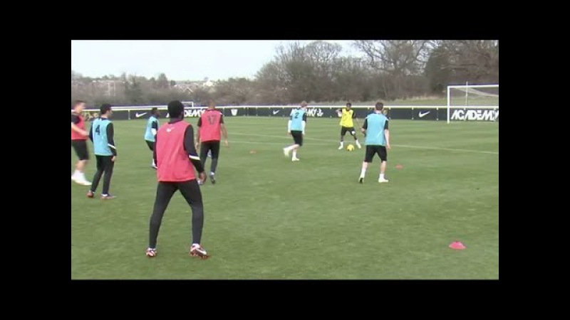 Keep possession and create overloads in midfield | Football tactics | Nike Academy