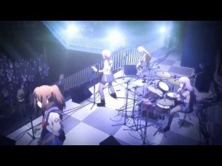 Отрывок из аниме Angel Beats/Ангельские ритмы. 1