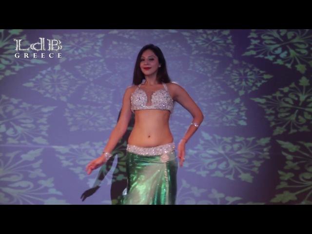 Sanjana Muthreja Drum Solo @ LdB Greece International Oriental Dance Festival