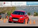 Ford Fiesta 1 5 TDCi 95 CV 2013 Maniobra de esquiva moose test y eslalon