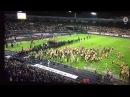 Platzsturm von Braunschweiger Fans nach Niederlage im Relegationsspiel Braunschweig VS Wolfsburg 0-1