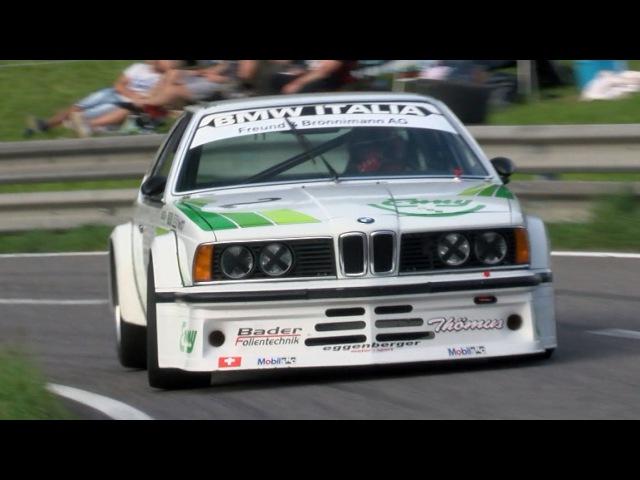 Pure Loud Sound BMW 635 CSI Gruppe 2 360HP with full Onboard at Swiss Hillclimb Gurnigel 2015