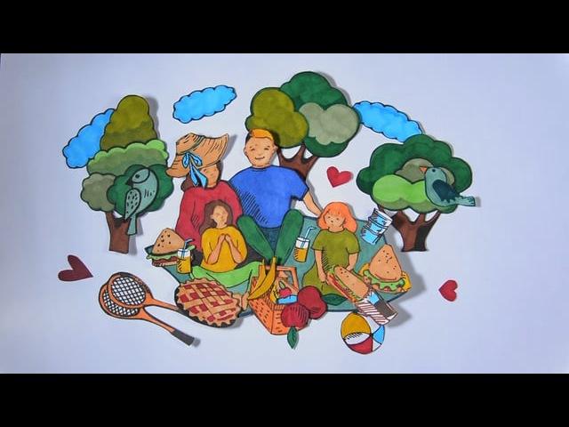 Doodle Video - Европейская Юридическая Служба | Семейный бизнес @ Девочка с красными во...