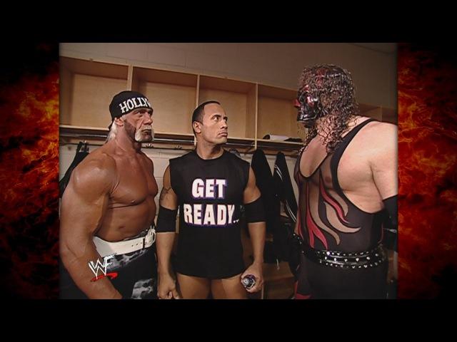 Kane, Hollywood Hogan The Rock Hilarious Backstage Segment 32802