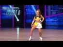 10-летняя девочка покорила судей латиноамериканским танцем - Танцуют все!