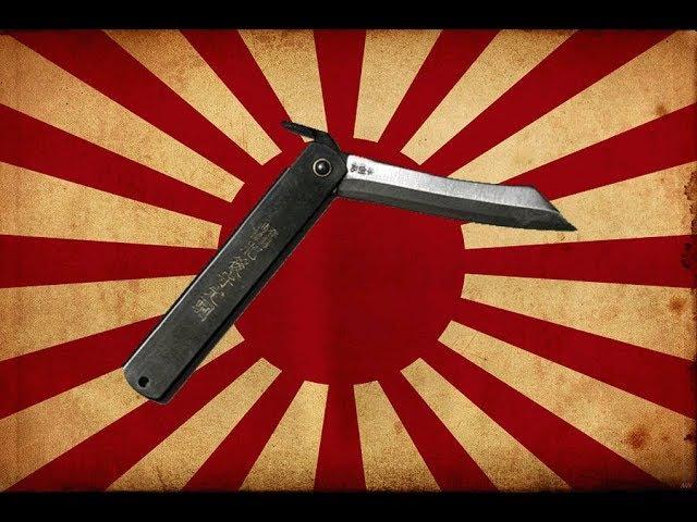 Нож HIGONOKAMI классная Японская классика