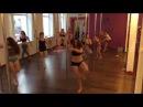 танцюльки pole dance contemp учим новую связку Royal Pole Dance г Кропивницкий
