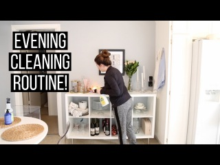 Evening Cleaning Routine: Clean With Me! | Hayley Paige