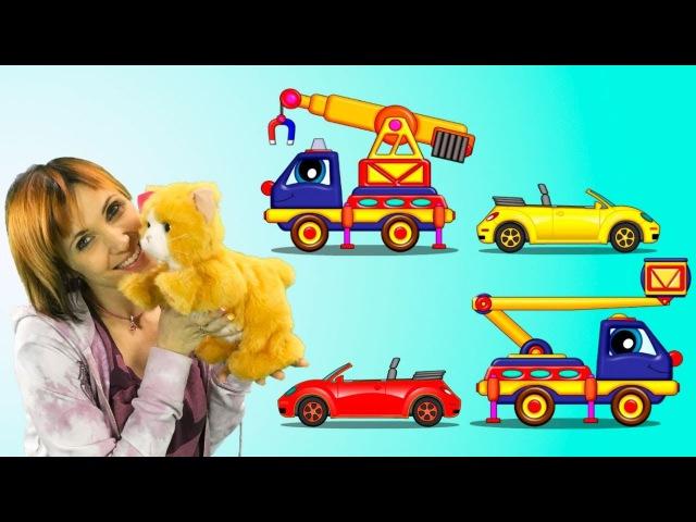 Maria ve Billy - KEDİ🙀kurtarma operasyonu! Eğitici çizgi film Türkçe izle!. küçükçocuklariçin