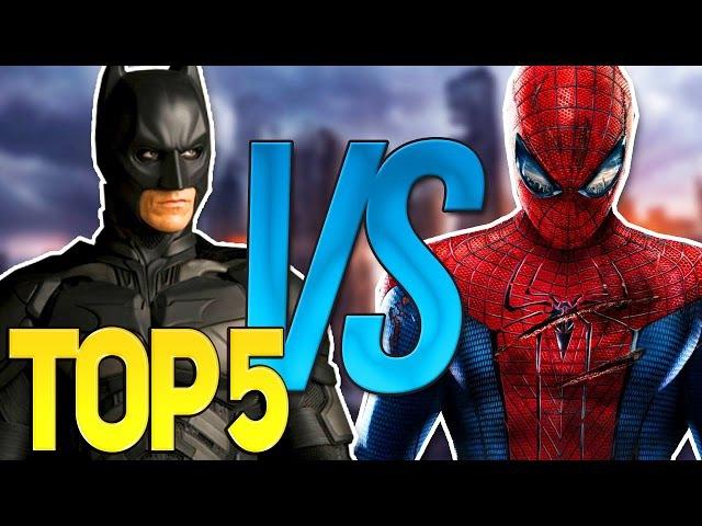 ТОП 5 СУПЕР РЭП БИТВА (Лучшее)   Batman VS Spiderman, Диппер ПРОТИВ Мейбл, Фрост, Мистик, Яри ...