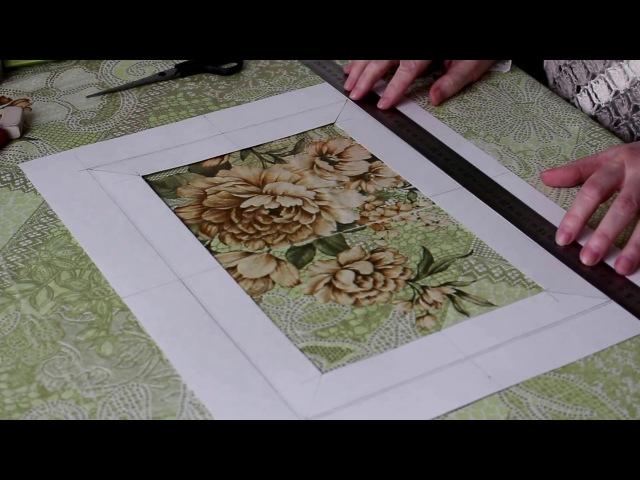 Сделать паспарту своими руками для рисунка Видео с субтитрами