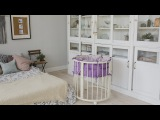 Сборка детской кроватки трансформер компании 7 Небо | Медиаупаковка.рф