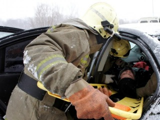 Видео,  момент страшной аварии на дороге Уфа–Шакша, снято на видеореистратор
