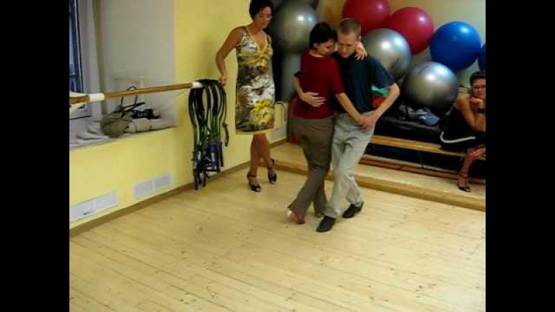 Class canyengue. Урок танго канженге в TangoCity 12.09.09.
