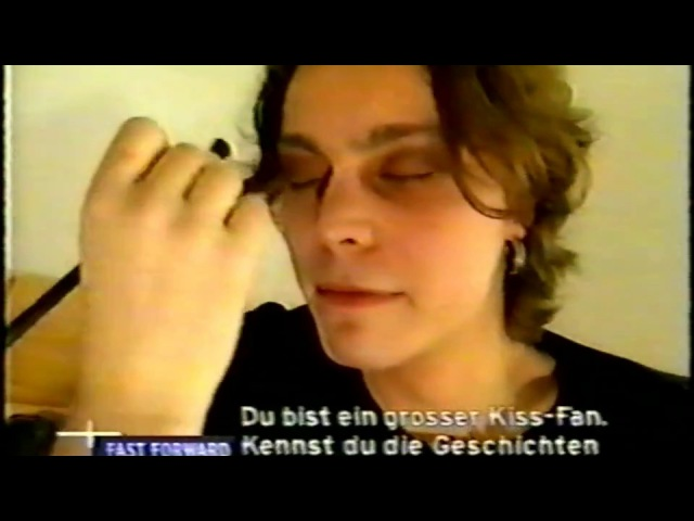 Ville Valo Makeup Interview with Charlotte Roche @ VIVA Zwei Fast Forward 1999
