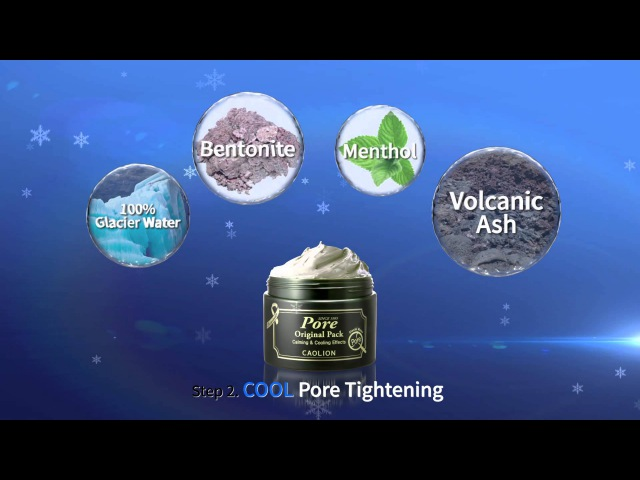Caolion Premium Hot Cool Pore Pack Duo