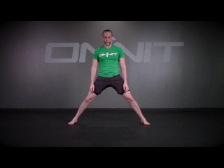 Alternating Cossack Squat Durability Exercise