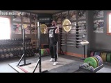 Jerk from Split - Olympic Weightlifting Exercise Library - Catalyst Athletics