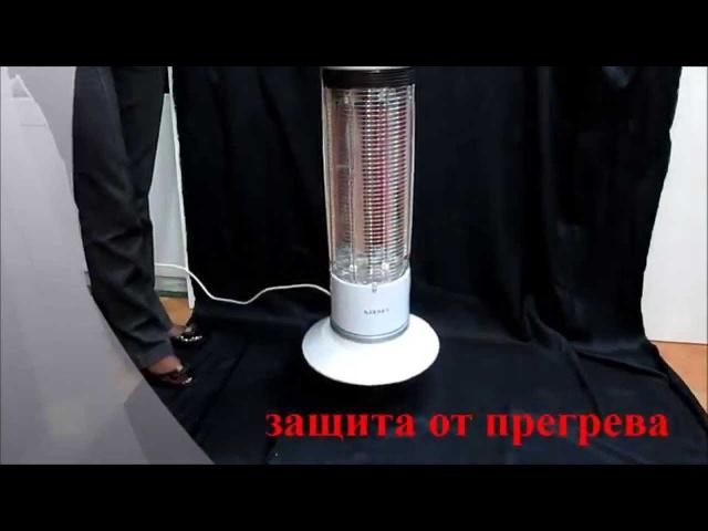 Видео инструкция для карбонового обогревателя ZENET QH-1200В