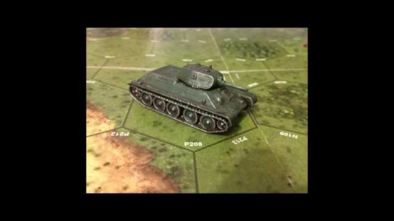 T34 MEDIUM SOVIET TANK 1/100 scale model by Zvezda - Art Of Tactic -