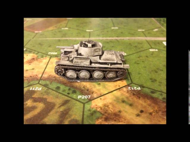 Panzer 38(t) GERMAN LIGHT TANK 1/100 Scale Model - Zvezda - Art Of Tactic -