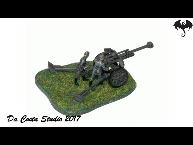 Art of Tactic - Zvezda - German Howitzer leFH 18 - In box Review