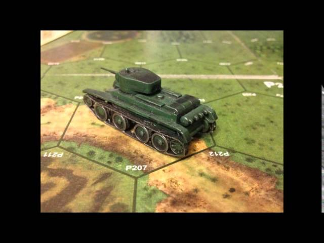 BT5 SOVIET LIGHT TANK 1/100 scale model - Zvezda - Art Of Tactic -