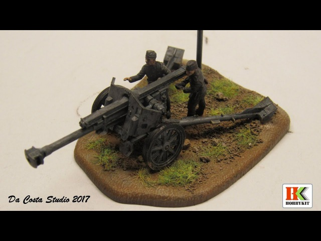 Art of Tactic - Zvezda - Let´s Build Paint Weather - German Howitzer leFH-18