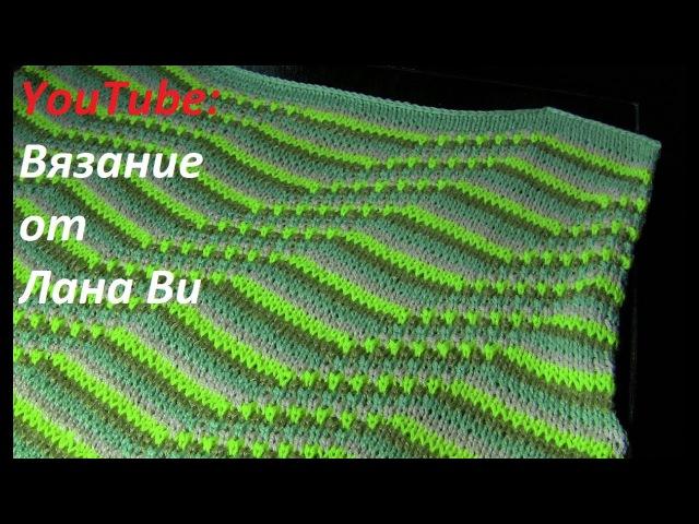 Вязание спицами описание топа кофточки 2 МК Летний топ кофточка спицами спущенными петлями