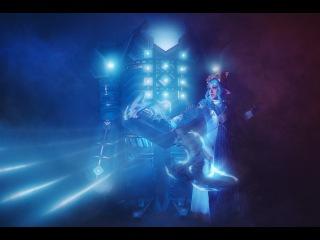 Photoshop Timelapse - Enayla Cosplay as Asura with Golem