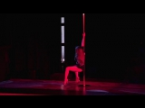Exotic Pole Dance - Sasha Osen. Imrovisation,