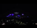 Музыкальная рапсодия супердеревьев в Сингапуре