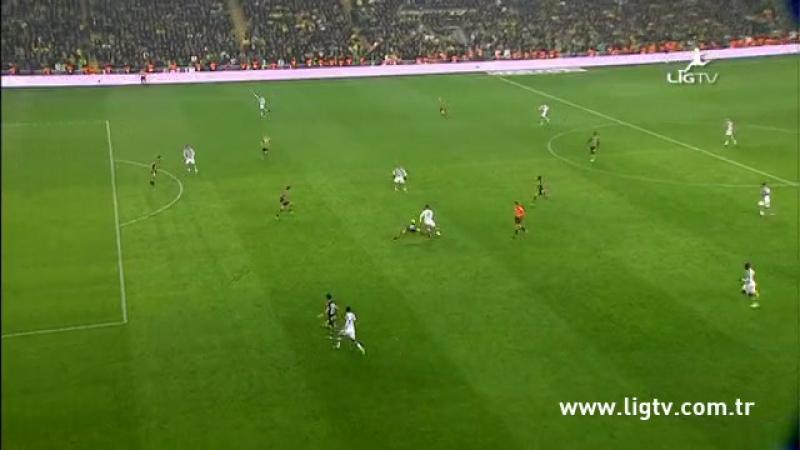 2013 - 2014 Sezonu - Fenerbahçe-Beşiktaş dakika 45 gol Hugo Almeida