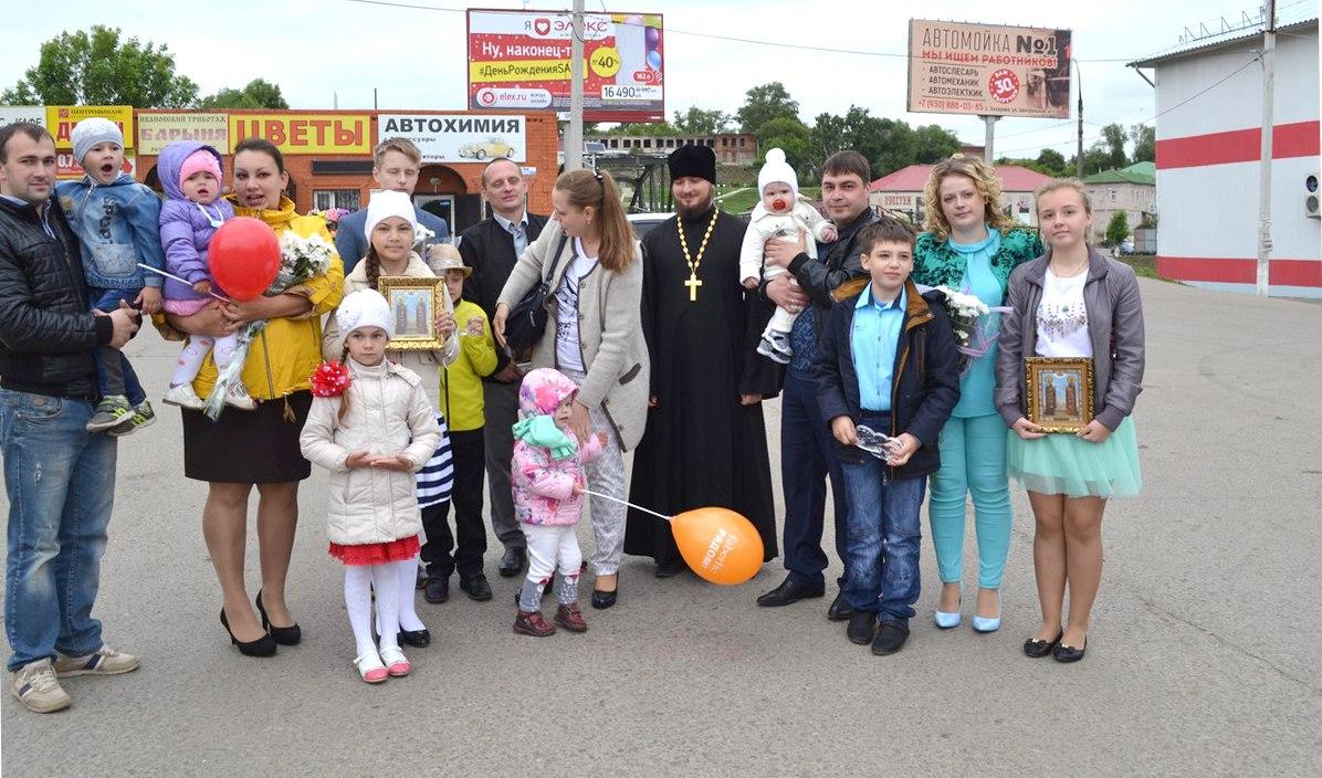 В Михайлове вручили подарки самым крепким семьям