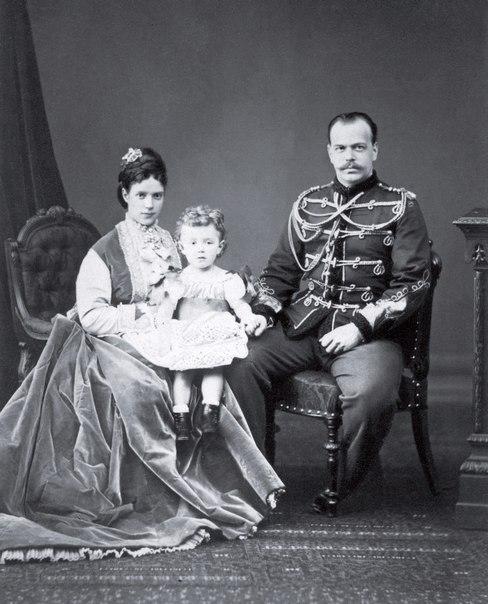 Цесаревич Александр Александрович и цесаревна Мария Фёдоровна