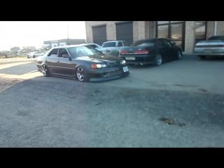 Видео обзор Toyota Chaser Tourer V 1jz-gte vvti Free Drift Team GARAGE