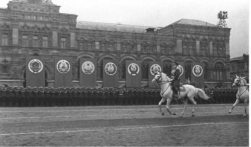 ВОВ. Москва 1945г – ПАРАД ПОБЕДЫ !
