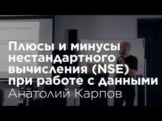 Анатолий Карпов: Плюсы и минусы нестандартного вычисления (NSE) при работе с данны...
